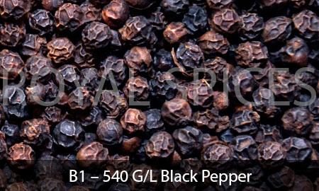 B1 – 540 G/L Black Pepper