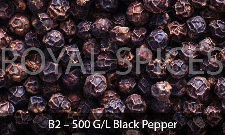 B2 – 500 G/L Black Pepper