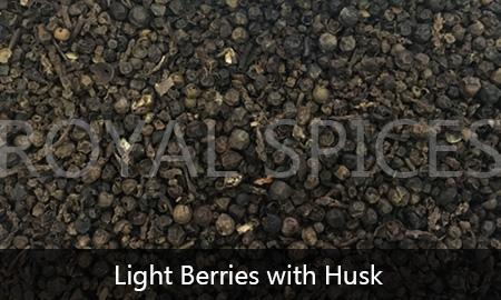 Light Berries with Husk Black Pepper Brazil