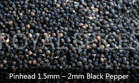 Pinhead 1.5mm-2mm Black Pepper Brazil
