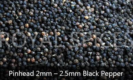 Pinhead 2mm-2.5mm Black Pepper Brazil